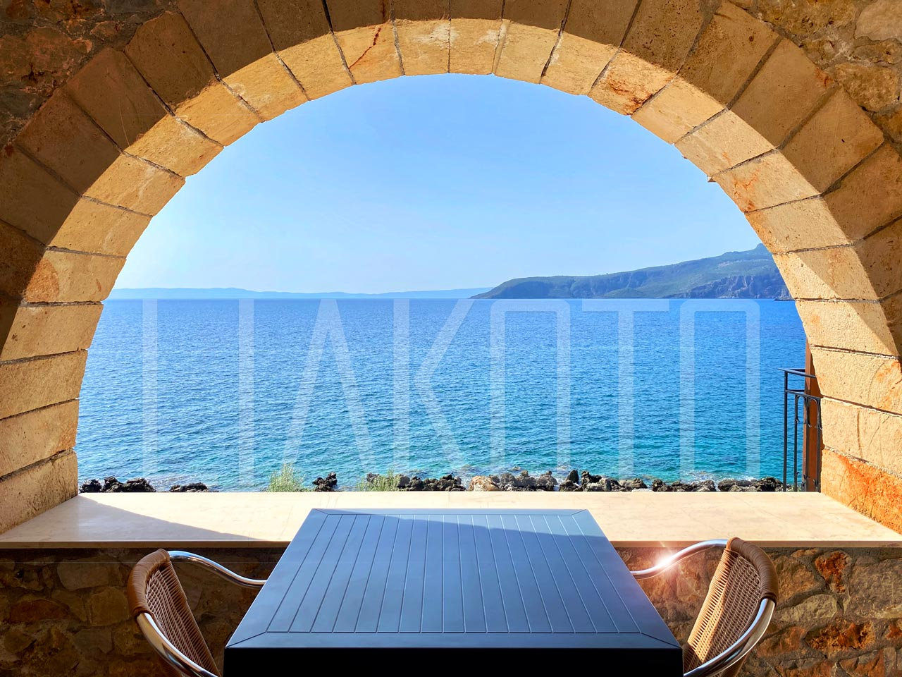 Liakoto Hotel in beautiful Kardamili, Greece